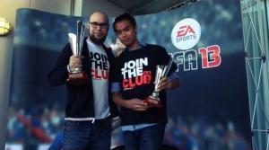 Sebastien Abdelhamid a choisi son camp, et pour lui c'est FIFA. Il est d'ailleurs double champion en titre du tournoi presse de l'enseigne d'EA Sports.